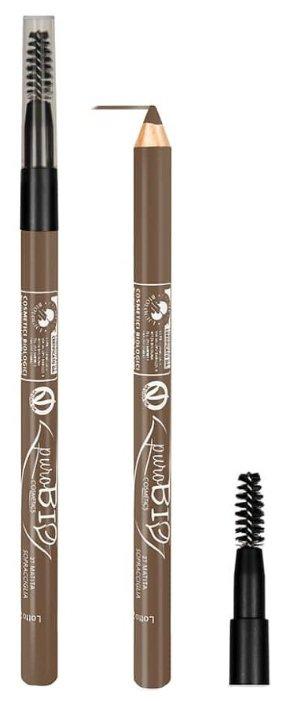 PuroBIO карандаш для бровей Eyerbow Pencil