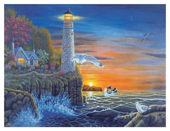 купить Royal Langnickel картина по номерам маяк 28 5x39
