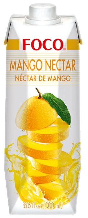 Нектар FOCO манго, 0.33 л