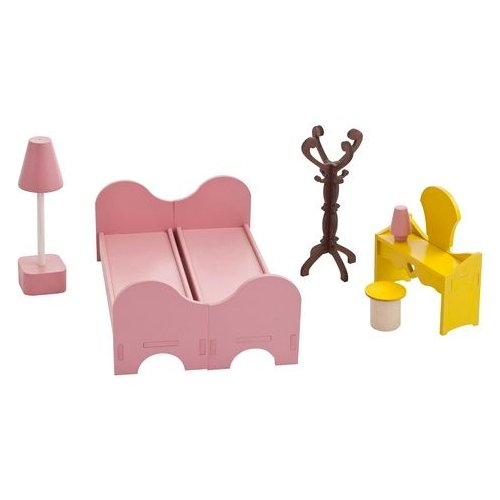 Фото - PAREMO Набор мебели для спальни (PDA417-01) розовый/желтый/коричневый paremo набор мебели для ванной комнаты pda417 04 белый бежевый