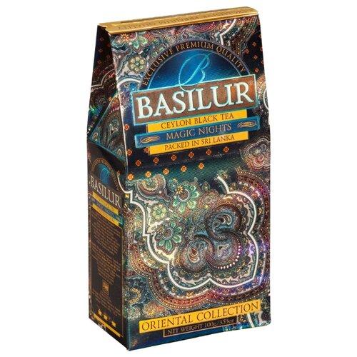 Чай черный Basilur Oriental collection Magic nights , 100 г basilur tea book v черный листовой чай 100 г жестяная банка