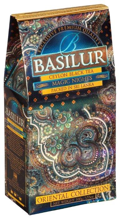 Чай Basilur Чай Basilur Magic Nights (Волшебны ночи) черный 100 гр.