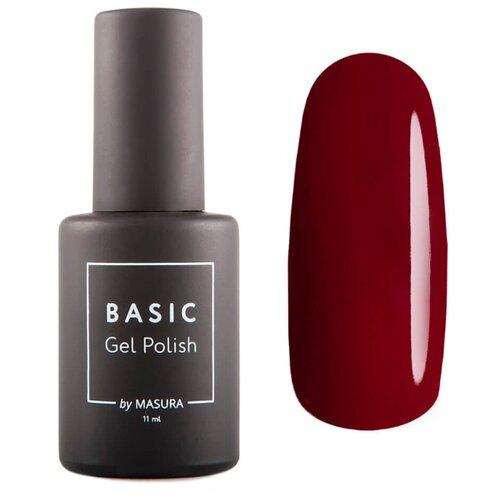 Гель-лак Masura Basic, 11 мл, оттенок Красная Груша masura гель лак basic цвет 294 228m калифорния 3 5 мл