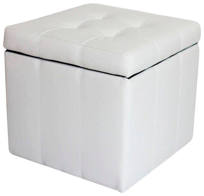 Пуфик с ящиком для хранения DreamBag Модерна искусственная кожа — купить по выгодной цене на Яндекс.Маркете