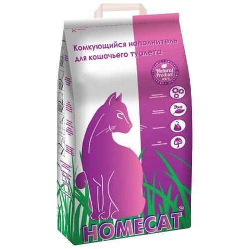 Наполнитель Homecat Комкующийся (10 кг)Наполнители для кошачьих туалетов<br>