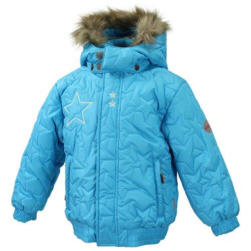 Куртка Huppa Margo 1613AW12 размер 116, 076, голубой куртка huppa isla 17820020 размер 116 73320 white pattern gray