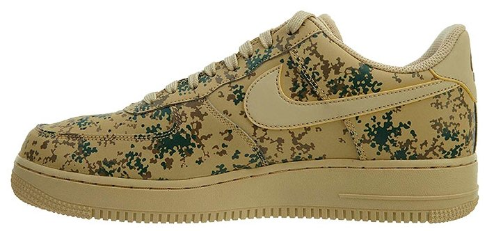 Кроссовки NIKE Air Force 1 Low 07 LV8 размер 12.5, Team Gold/Team Gold-Golden Beige