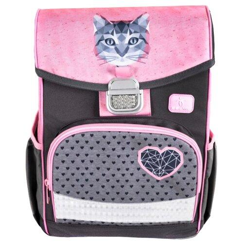Купить Belmil Ранец Click Cute Cat (405-45/782) розовый/серый, Рюкзаки, ранцы
