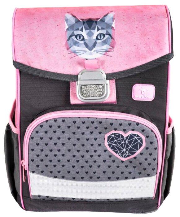 Belmil Ранец Click Cute Cat (405-45/782) розовый/серый