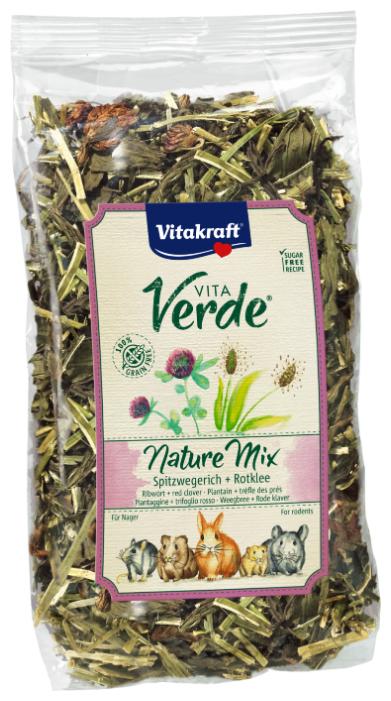 Лакомство для грызунов Vitakraft Vita Verde Nature Mix подорожник и клевер луговой