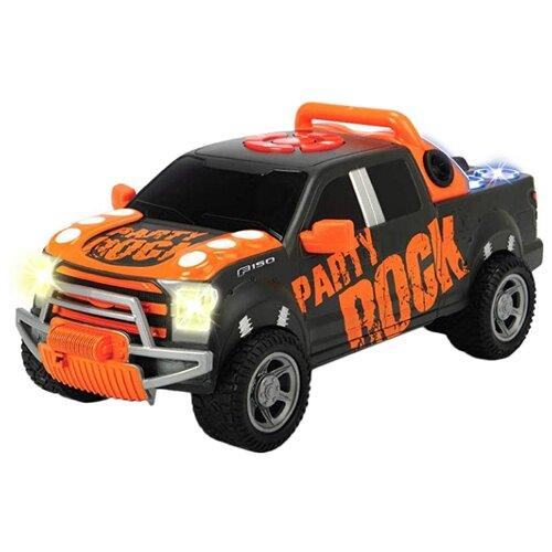 Купить Внедорожник Dickie Toys Ford F-150 Party Rock (3765003) 29 см черный/оранжевый, Машинки и техника