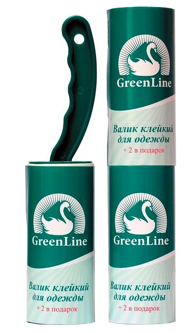 Green Line набор валиков для одежды, 3х10 листов (58461-4084)