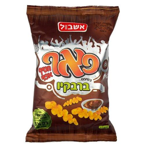 Снэк кукурузный Eshbol Ltd «Пафф» со вкусом барбекю 60 г