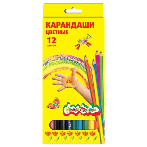 Каляка-Маляка Карандаши цветные 12 цветов (ККМ12)