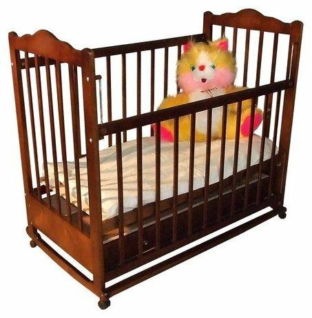 Кроватка Мой малыш 6 (колесо-качалка)