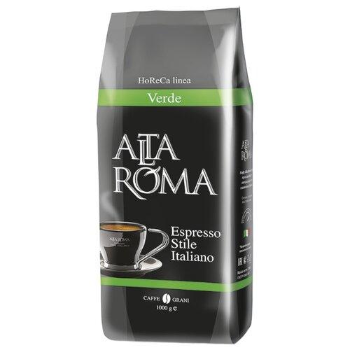 Кофе в зернах Alta Roma Verde, арабика/робуста, 1000 г