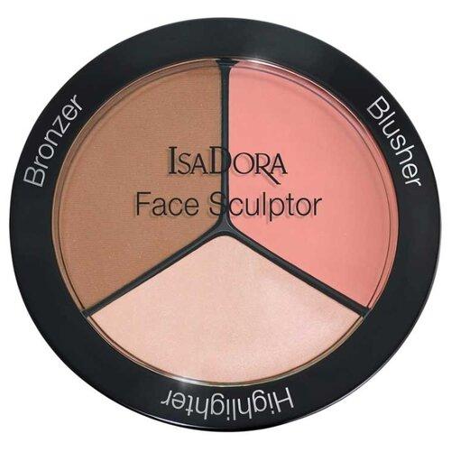 IsaDora Многофункциональное средство для макияжа лица Face Sculptor 01, warm peach