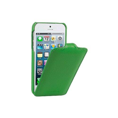 Чехол Melkco Jacka Type для Apple iPhone 5/iPhone 5S/iPhone SE зеленый чехол для сотового телефона melkco кожаный чехол флип для apple iphone x xs jacka type розовый