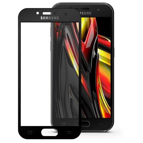 Защитное стекло Mobius 3D Full Cover Premium Tempered Glass для Samsung Galaxy A7 2017 черный защитное стекло interstep full screen cover 0 3мм sams a7 2017 a720 black