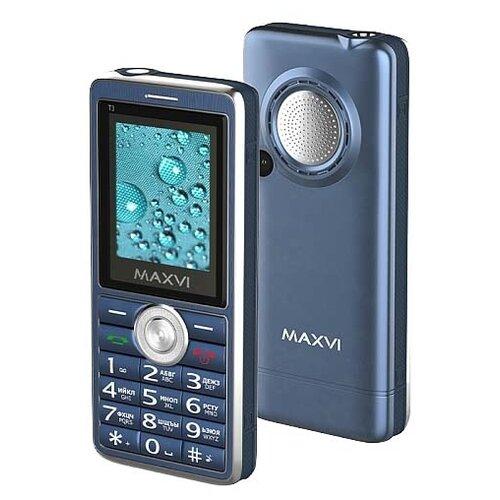 Телефон MAXVI T3 маренго