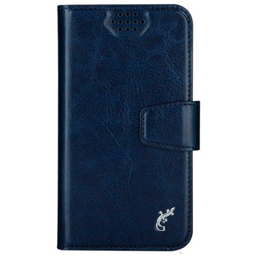 Чехол универсальный G-Case Slim Premium (GG-759/GG-760/GG-761/GG-762/GG-763/GG-764/GG-765/GG-766/GG-767/GG-768) темно-синий gucci кожаный кошелек gg marmont