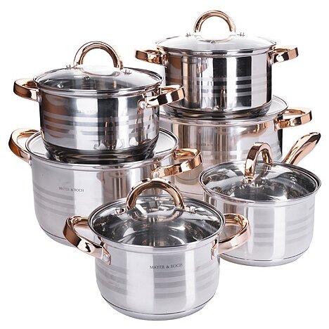 Набор посуды 6 предметов MAYER & BOCH 28764-1