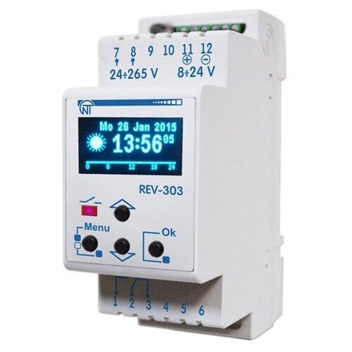 Реле времени для распределительного щита Новатек-Электро REV-303 реле времени для распределительного щита feron 23205