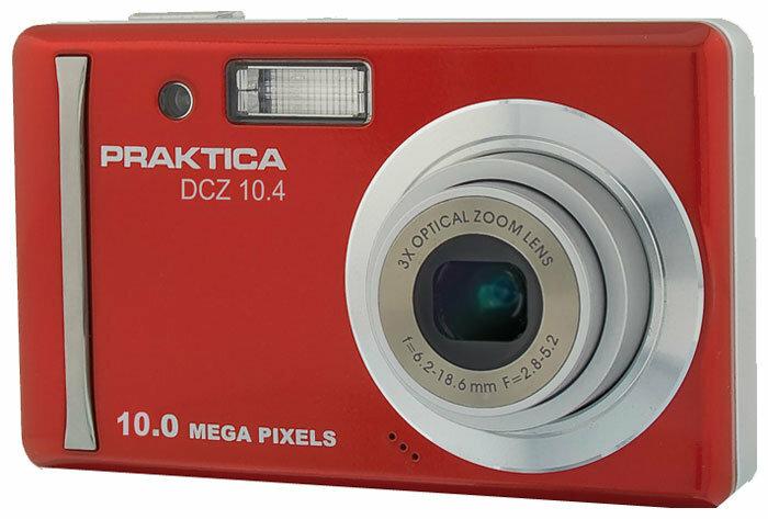 Фотоаппарат Praktica DCZ 10.4