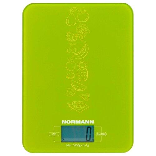 Кухонные весы Normann ASK-269 зеленый кухонные весы eltron el 9259 зеленый