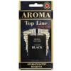 AROMA TOP LINE Ароматизатор для автомобиля Aroma №U004 Bulgari Black 14 г