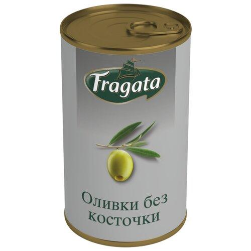 Fragata Оливки без косточки, жестяная банка 350 г