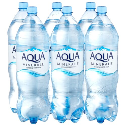 Фото - Вода питьевая Aqua Minerale негазированная, ПЭТ, 6 шт. по 2 л вода aqua minerale малина 500 мл