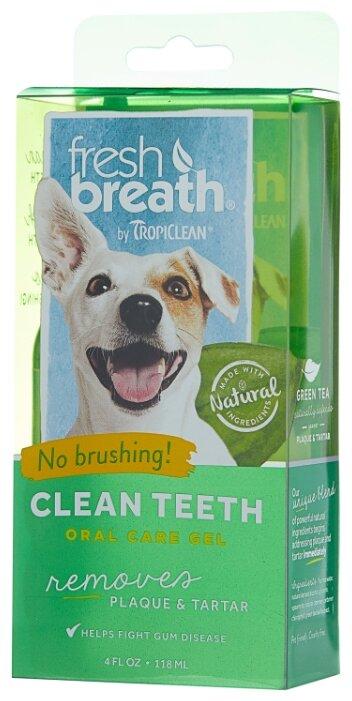 Гель Tropiclean Fresh Breath для чистки зубов для собак и кошек 118 мл