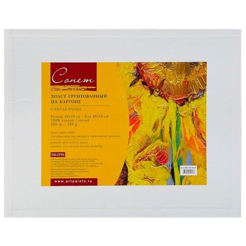 Холст Сонет на картоне DK13701-40x50, 40 х 50 см
