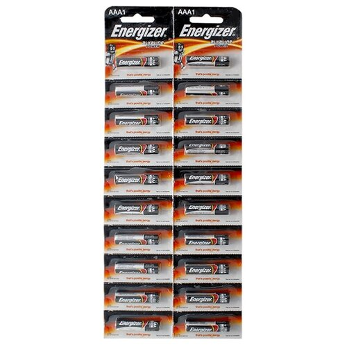 цена на Батарейка Energizer Alkaline Power AAA 20 шт блистер