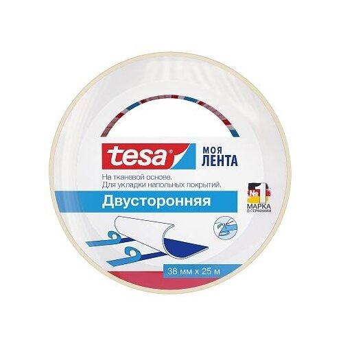 Фото - Клейкая лента монтажная Tesa 55540, 38 мм x 25 м клейкая лента малярная tesa 55592 36 мм x 50 м