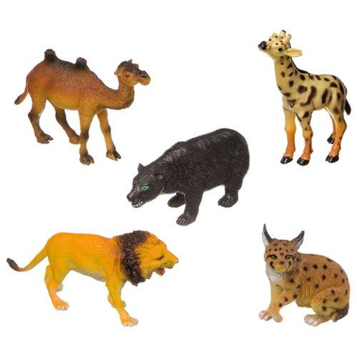 Фигурки BONDIBON Ребятам о зверятах - Дикие животные ВВ3138 bondibon ребятам о зверятах дикие животные вв3136