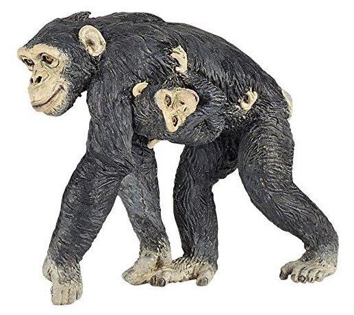 Фигурка Papo Шимпанзе с детенышем 50194