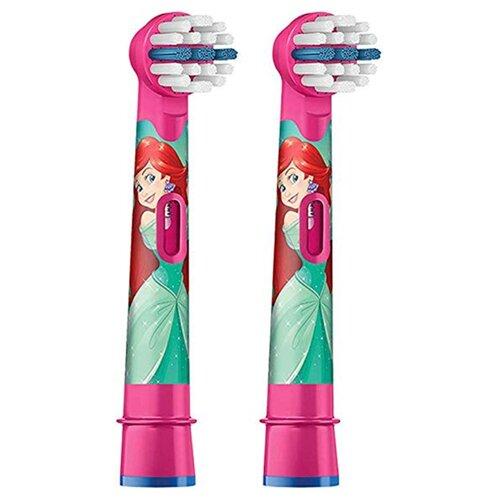 Набор насадок Oral-B Stages Kids Avengers Little Mermaid, розовый, 2 шт
