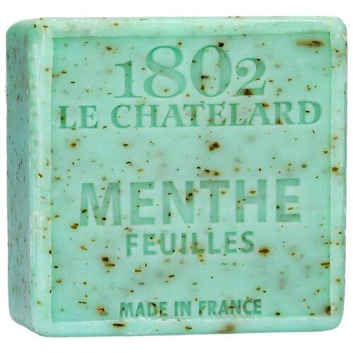 Мыло кусковое Le Chatelard 1802 Листья мяты, 100 г по цене 585