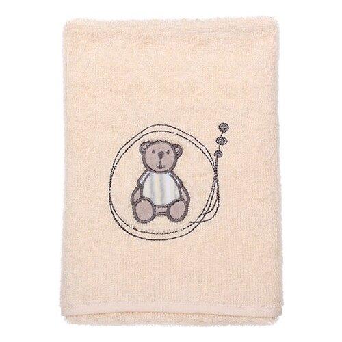 Kidboo Полотенце Мишка банное 70х140 см бежевый la pastel полотенце гербера банное 70х140 см бежевый