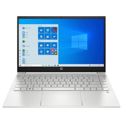 Ноутбук HP Pavilion 14-dv0029ur (2X2N7EA), белая керамика/естественный серебристый ноутбук hp pavilion 14 ce3010ur 8pj89ea минерально серебристый серебристый