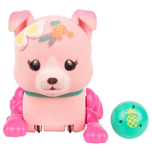 Купить Интерактивная игрушка робот Moose Little Live Pets Щенок с мячиком солнечный ананас, Роботы и трансформеры