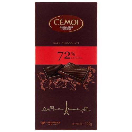 шоколад klaus горький 80% какао 100 г Шоколад Cemoi Горький 72% какао, 100 г