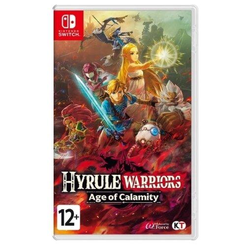 Игра для Nintendo Switch Hyrule Warriors: Age of Calamity, английский язык