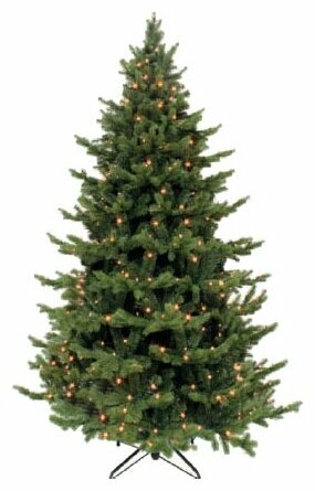 Triumph Tree Ель Шервуд Премиум зеленая (лампы) 1.2