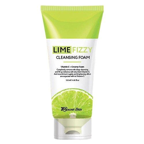 Secret Skin пенка для умывания Lime Fizzy Cleansing Foam, 120 млОчищение и снятие макияжа<br>