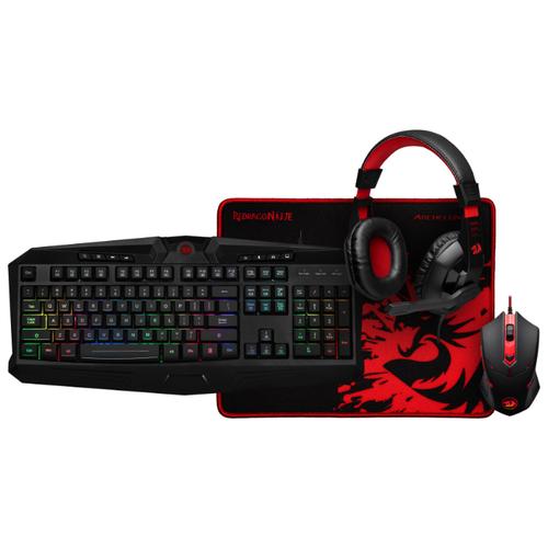 Клавиатура и мышь Redragon S101-BA