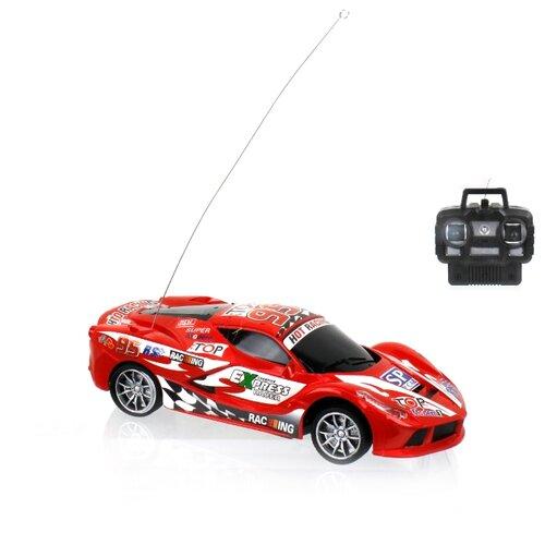 Купить Гоночная машина 1 TOY Спортавто (T13845/T13846/T13847) 20 см красный, Радиоуправляемые игрушки