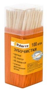 Paterra зубочистки деревянные